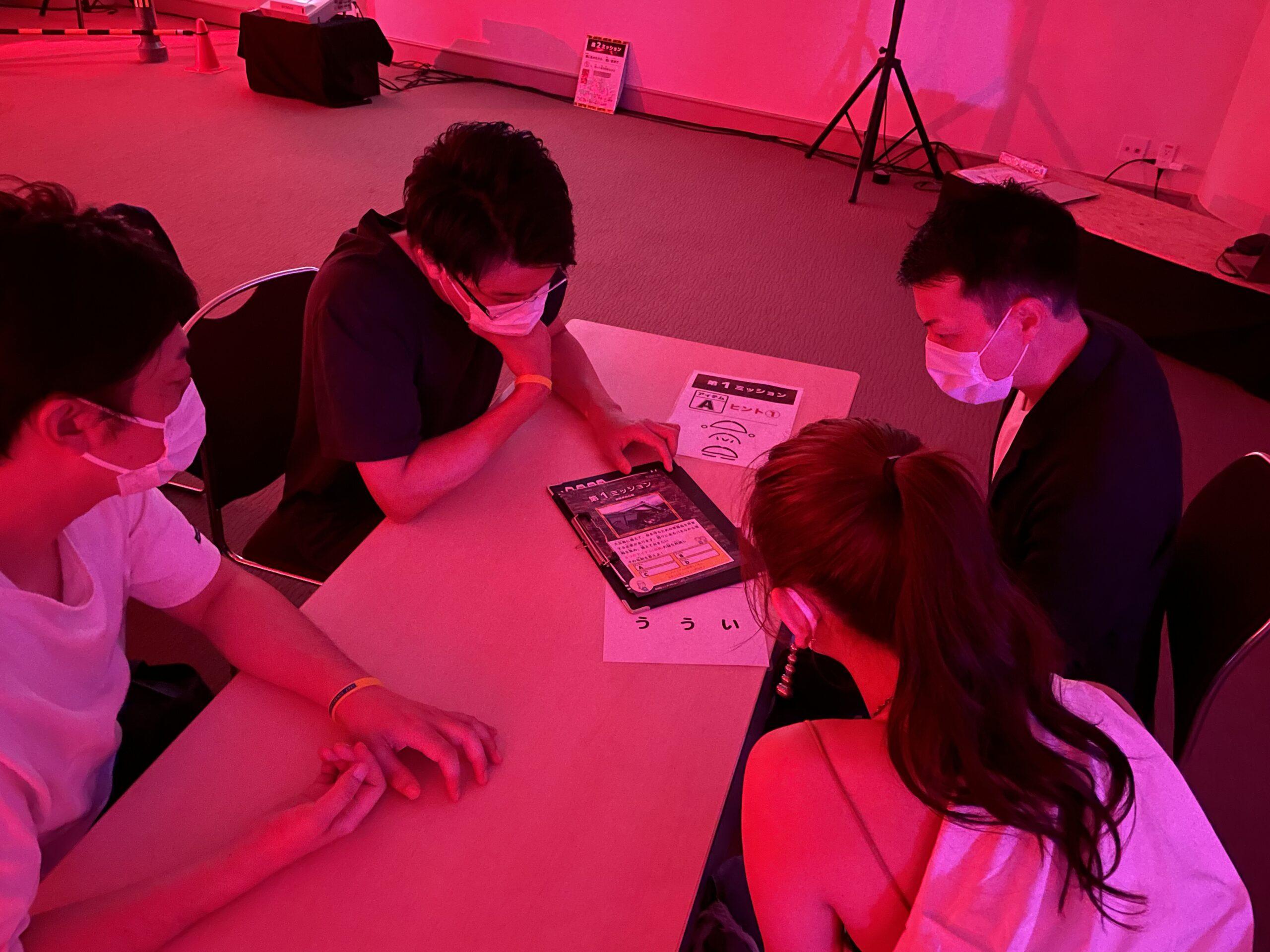日本青年会議所で行われた新しい体験型の避難訓練